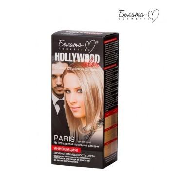 Стойкая крем-краска для волос Hollywood-color №328 Пэрис (Paris) светлый пепельный блондин