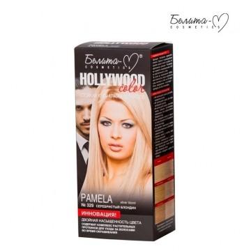 Стойкая крем-краска для волос Hollywood-color №329 Памела (Pamela) серебристый блондин