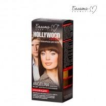 Стойкая крем-краска для волос Hollywood-color №337 Анджелина (Angelina) золотисто-коричневый