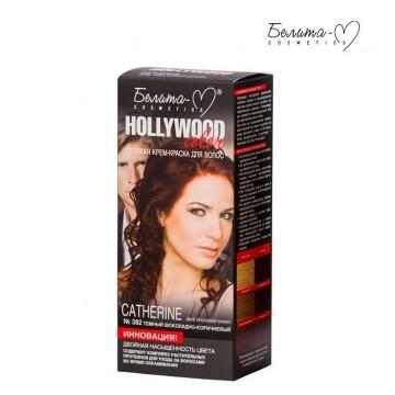 Стойкая крем-краска для волос Hollywood-color №382 Кэтрин (Catherine) темный шоколадно-коричневый