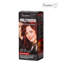 Стойкая крем-краска для волос Hollywood-color №387 Джулия (Julia) темно-медный