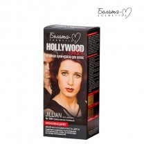 Стойкая крем-краска для волос Hollywood-color №398 Джиллиан (Jillian) темно-махагоновый