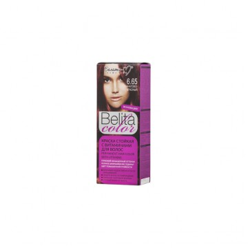 Стойкая крем-краска для волос № 6.65 Гранатово-Красный