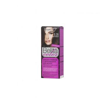 Стойкая крем-краска для волос № 5.35 Коричневый