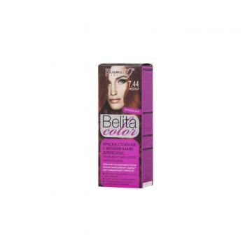 Стойкая крем-краска для волос № 7.44 Медный