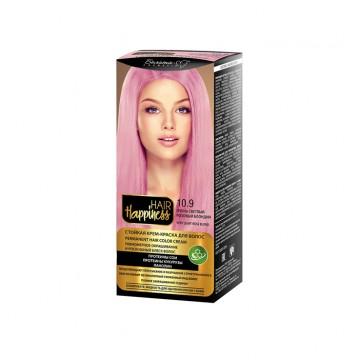 Стойкая крем-краска для волос тон № 10.9 Очень светлый розовый блондин