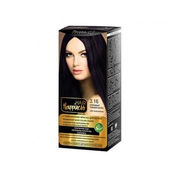 Стойкая крем-краска для волос тон № 3.16 Холодный темный шатен
