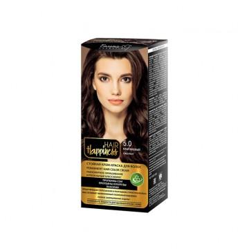 Стойкая крем-краска для волос тон № 5.0 Светло-каштановый
