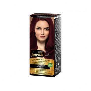 Стойкая крем-краска для волос тон № 5.5 Махагон