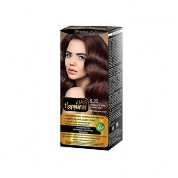 Стойкая крем-краска для волос тон № 6.25 Перламутровый темно-русый