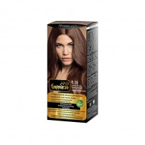 Стойкая крем-краска для волос тон № 6.35 Золотистый темно-русый