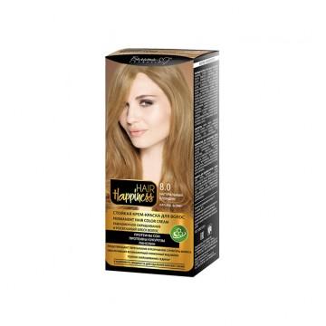 Стойкая крем-краска для волос серии тон № 8.0 Натуральный блондин