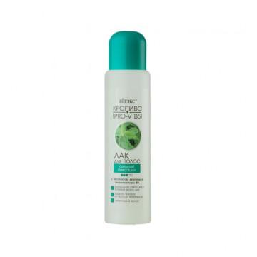 Лак для волос сильной фиксации с провитамином B5 и экстрактом крапивы (доп.баллон)