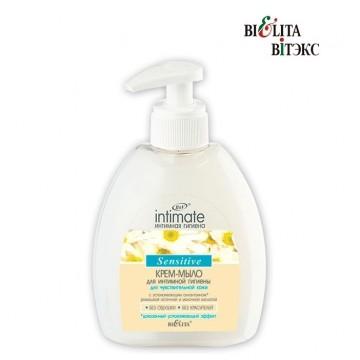 Крем-мыло для интимной гигиены для чувствительной кожи Sensitive
