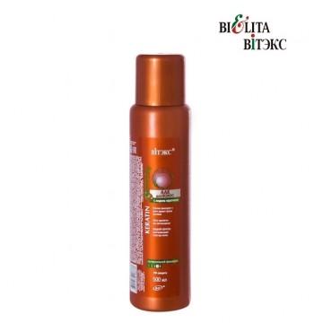 Лак для волос с жидким кератином суперсильной фиксации - доп. баллон