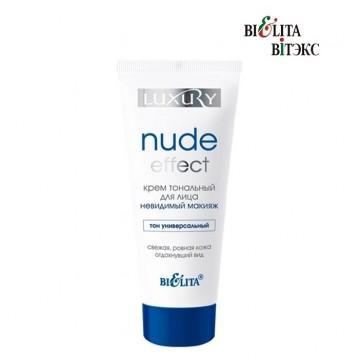 Крем тональный для лица NUDE Effect «невидимый» макияж