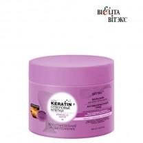 """Keratin + Стволовые клетки и биотин бальзам для всех типов волос """"Восстановление и омоложение"""""""