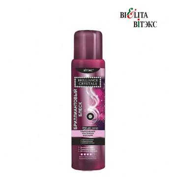 Лак для волос бриллиантовый блеск сверхсильная эластичная фиксация 500 мл (доп. баллон)