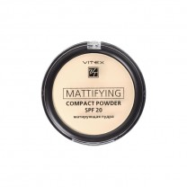 Матирующая компактная пудра для лица Mattifying compact powder SPF20