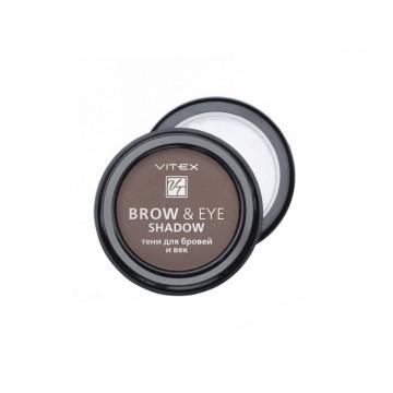 Тени для бровей и век BROW&EYE SHADOW тон 13 Medium brown