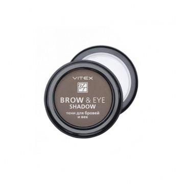 Тени для бровей и век BROW&EYE SHADOW тон 14 Chocolate
