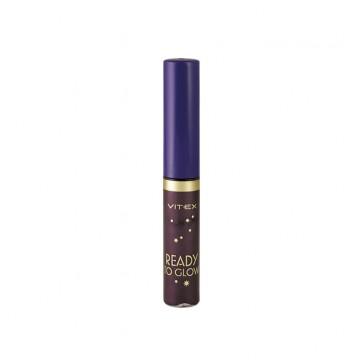 Жидкая подводка для глаз с блестками тон 85 Night violet