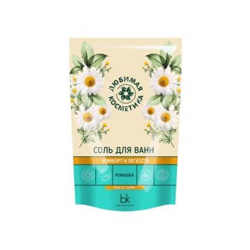 Соль для ванн комфорт и легкость ромашка