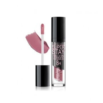 Супер стойкий блеск для губ Smart girl Million kisses тон 212 розово-лиловый