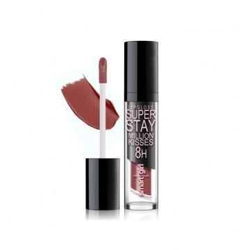 Супер стойкий блеск для губ Smart girl Million kisses тон 220 терракотовый
