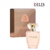 Парфюмированная вода La Vie Love & Roses Dilis для женщин 100мл