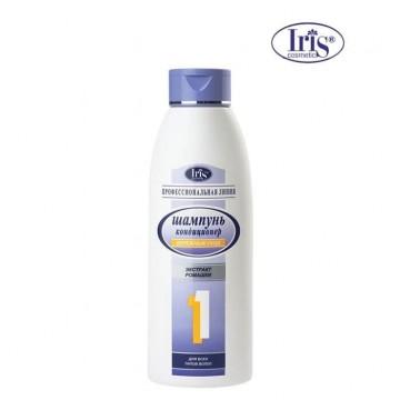 Шампунь №1 «Бережный уход» с экстрактом ромашки для всех типов волос