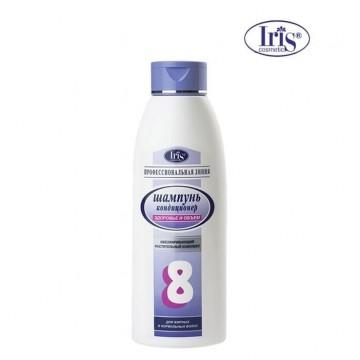 Шампунь №8 «Здоровье и объем» с календулой и мелиссой для нормальных и жирных волос