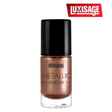 Лак для ногтей Metallic Show тон 303 (бронзовый загар)