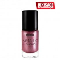 Лак для ногтей Metallic Show тон 307 (бордовая сталь)