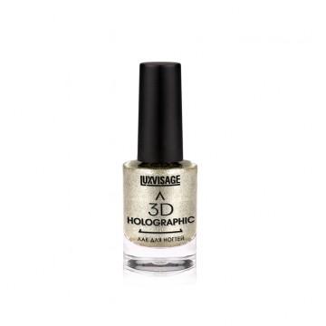 Лак для ногтей 3D HOLOGRAPHIC тон 702 Космическая платина