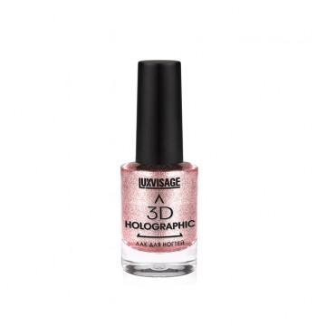 Лак для ногтей 3D HOLOGRAPHIC тон 705 Розовое золото