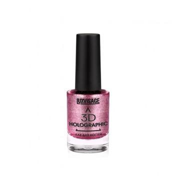 Лак для ногтей 3D HOLOGRAPHIC тон 706 Розовый аметист