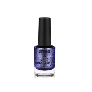 Лак для ногтей 3D HOLOGRAPHIC тон 710 Синий сапфир