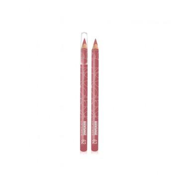 Карандаш для губ для губ тон 62 розово-сливовый