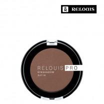 """Тени для век """"Relouis Pro Eyeshadow Satin"""" тон 34 Cinnamon"""
