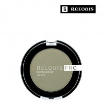 """Тени для век """"Relouis Pro Eyeshadow Satin"""" тон 35 Green tea"""